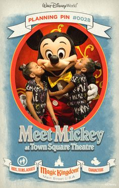 Walt Disney World Planning Pins: Go backstage as a special guest of your pal, Mickey.