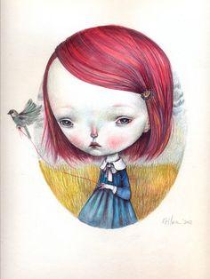 """Dilka Bear  """"Little sparrow"""""""