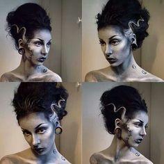 Bride of Frankenstein...@Lili Weißensteiner Aguilar make me look like this!?