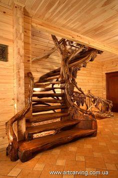 wood carvings in Ukraine