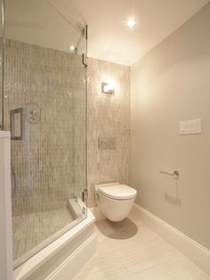This shower wall tile, wall color, and Kaska bone or beige on floor. Bathroom layout, but separate toilet room with door, same orientation. Double vanity left, soaking tub right.
