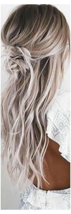 "Long Blonde Hair | Platinum Hair | Balayage | Hair Extensions | Full Cuticle Remy Double Drawn Balayage Ombre Tape-in Seamless weft 20"" Hair Extensions 20pcs #ad"