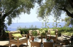 Kaminaki House Kaminaki & Agni Sleeps up to 6. Set in flower-filled seafront gardens, this is a wonderfully comfortable family villa in Corfu's unspoilt resort of Kaminaki. Its tranquil setting is just five minutes on foot from the beach.