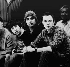 Big bang boys sans Leonard.