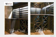 WineCust: винные погреба, винные шкафы, винные стеллажи, хранение вина > Портфолио
