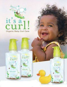 Natural Hair Products for Babies, I wish they had this when my babies were young.