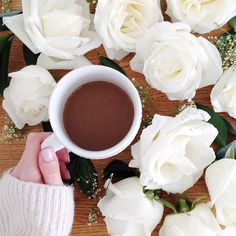 """""""Butchered my roses this morning. On the plus side, Saturday morning coffee never looked so good."""""""