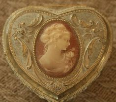 Cameo jewelry box.