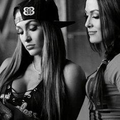 I love love love the Bella Twins Wwe Divas Paige, Wwe Total Divas, Nxt Divas, Paige Wwe, Roman Reigns, Nicki Bella, Bella Sisters, Famous Twins, Nikki And Brie Bella