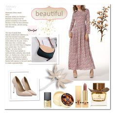 """""""Rosegal 8 / 60"""" by binche ❤ liked on Polyvore featuring Burberry, Yves Saint Laurent, The Body Shop and NARS Cosmetics"""