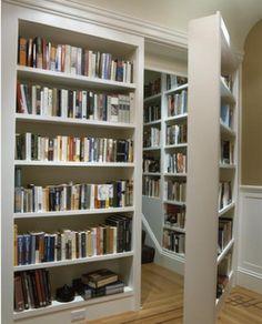 bookshelf door...too cool