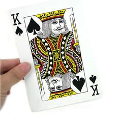 Large playing cards,giant playing cards,plastic coated cards,large poker cards | Tmcards.com