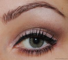 Eye Make Up for green eyes with MUA Undressed Palette