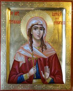 "Search Results for ""Lucia"" – Theodoros Art – ""Icoana"" – darul lui Dumnezeu! Byzantine Icons, Byzantine Art, Religious Images, Religious Art, St Anastasia, Santa Lucia Day, Faith Of Our Fathers, Greek Icons, Paint Icon"