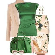 In love with green