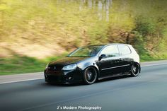 Vw golf mk5 black