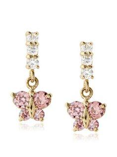 51% OFF Mindy Harris Butterfly Stone Dangle Earrings
