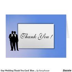 Gay Wedding Thank Yo
