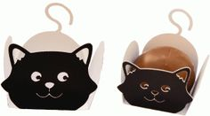 treat holder halloween cat---------------------------I think I'm in love with this shape from the Silhouette Online Store!