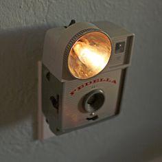 Vintage Camera Nightlight - Fedella // jayfish esty shop