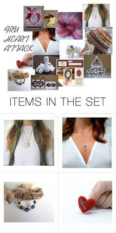 """FRU HEART ATTACK THANK YOU"" by stacey-nap ❤ liked on Polyvore featuring art"