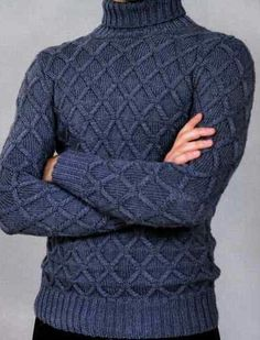 Made to order Hand Knit Sweater Men's or Women's designer inspired- – knitting sweaters men Knitting Patterns Free, Hand Knitting, Handgestrickte Pullover, Sweaters For Women, Men Sweater, Hand Knitted Sweaters, Knitting Sweaters, Knitting For Beginners, Designing Women