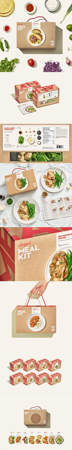 A Fresh Take on Meal Kit Packaging Helps This Brand Stand Out — The Dieline | Packaging & Branding Design & Innovation News
