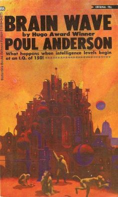 US paperback edition from 1970 with cover art by Paul Lehr. Very dramatic work from the popular and effective brush of Lehr, who was one of the dominant graphic forces in the science fiction world in the '60s and '70s.