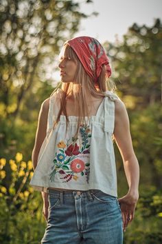 Bohemian Tops, Bohemian Summer, Pretty Outfits, Cool Outfits, Moda Boho, California Style, Couture, Clothing Patterns, Casual Chic