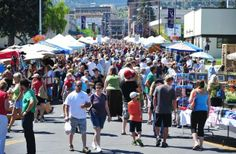 The Helena Farmer's Market is every Saturday from 9:00 am to 1:00 pm on Fuller Ave. Downtown Helena