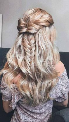 Cute Half Up Half Down Prom Hairstyles