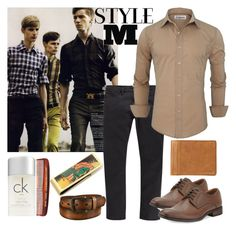 """""""STYLE M"""" by westcoastcharmed ❤ liked on Polyvore featuring River Island, Robert Wayne, Uniqlo, FOSSIL, Cufflinks, Inc., Baxter of California, Calvin Klein, Maison Margiela, men's fashion and menswear"""