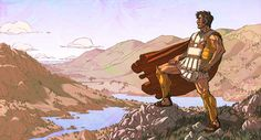 Alexander the Great - King of Macedonia, the kingdom of ancient Greece