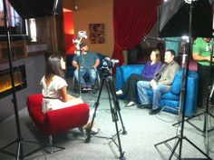 Host of On Location, Mercedes, interviews Matt and Dana DeVance of DeVance AV Design.