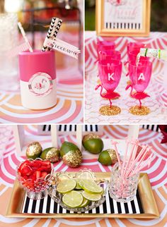Flamingo Fiesta Girls Night In {Part Dinner & Drinks} + Free Printables // Hostess with the Mostess® Flamingo Party, Flamingo Birthday, Adult Party Themes, Birthday Party Themes, Birthday Brunch, Theme Parties, Birthday Wishes, Birthday Ideas, Festa Party