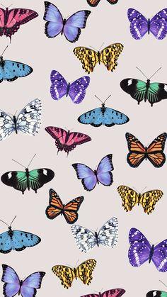 Tutorial: Aesthetic Butterfly Wallpaper