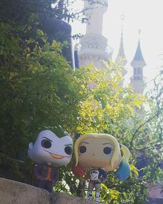 Harley et le Joker à #DisneylandParis