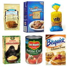 Favorite Low FODMAP Items--Great shopping list with name brands of many items