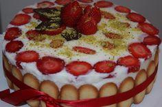 Dolci ed erbe officinali: torta di fragole alla lavanda