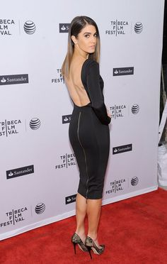 Nikki Reed at the Tribeca Film Festival premiere of In Your Eyes.