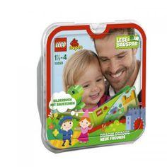 Papa erzählt aus dem Lego Duplo Buch.