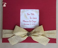 "Custom ""So This Is Love"" Guest Book Set - Choice of Colors - Wedding guestbooks (*Amazon Partner-Link)"