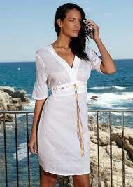 Vestido de playa cómodo y fresco
