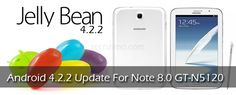 Now Samsung started rolling out Android 4.2.2 update to Samsung Galaxy Note 8.0 LTE (GT-N5120). But as per Sammobile's blogpost  not every Galaxy owner can update their tab right-away as Android 4.2.2 Jelly Bean update is rolling out in phases. The first to get JB 4.2.2 on Samsung Galaxy Note 8.0 LTE (GT-N5120) is UK customers.
