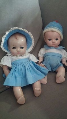 1950 S Baby Doll 15 Quot Hard Plastic Baby Sleep Eyes Molded