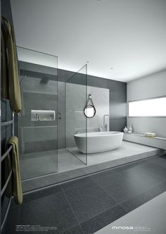 Minosa Design: A real showstopper! Modern Bathroom