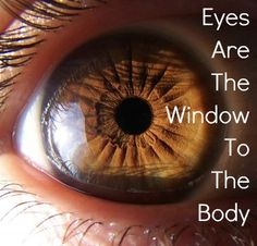 Your eye, specifically your iris, is a map of your body.  Reading this map, the iris, can reveal disease and health weakness in different parts of your body.