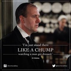 Mr. Moseley ~ Kevin Doyle if DOWNTON Abbey