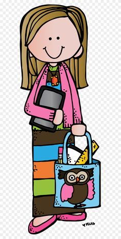 Teachers Notebook - Look At Teacher Clipart