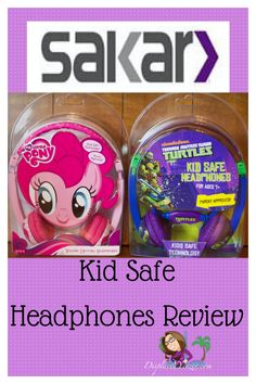 These kid safe headphones come in popular character styles such as My Little Pony, Hello Kitty, Barbie, Batman, Spider-Man, Thomas the Train and Teenage Mutant Ninja Turtles. They keep volume levels low for children.